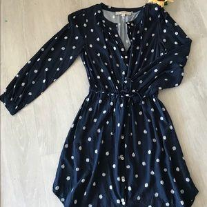 LOFT Dresses - Loft Tie Waist shirt dress 🌻